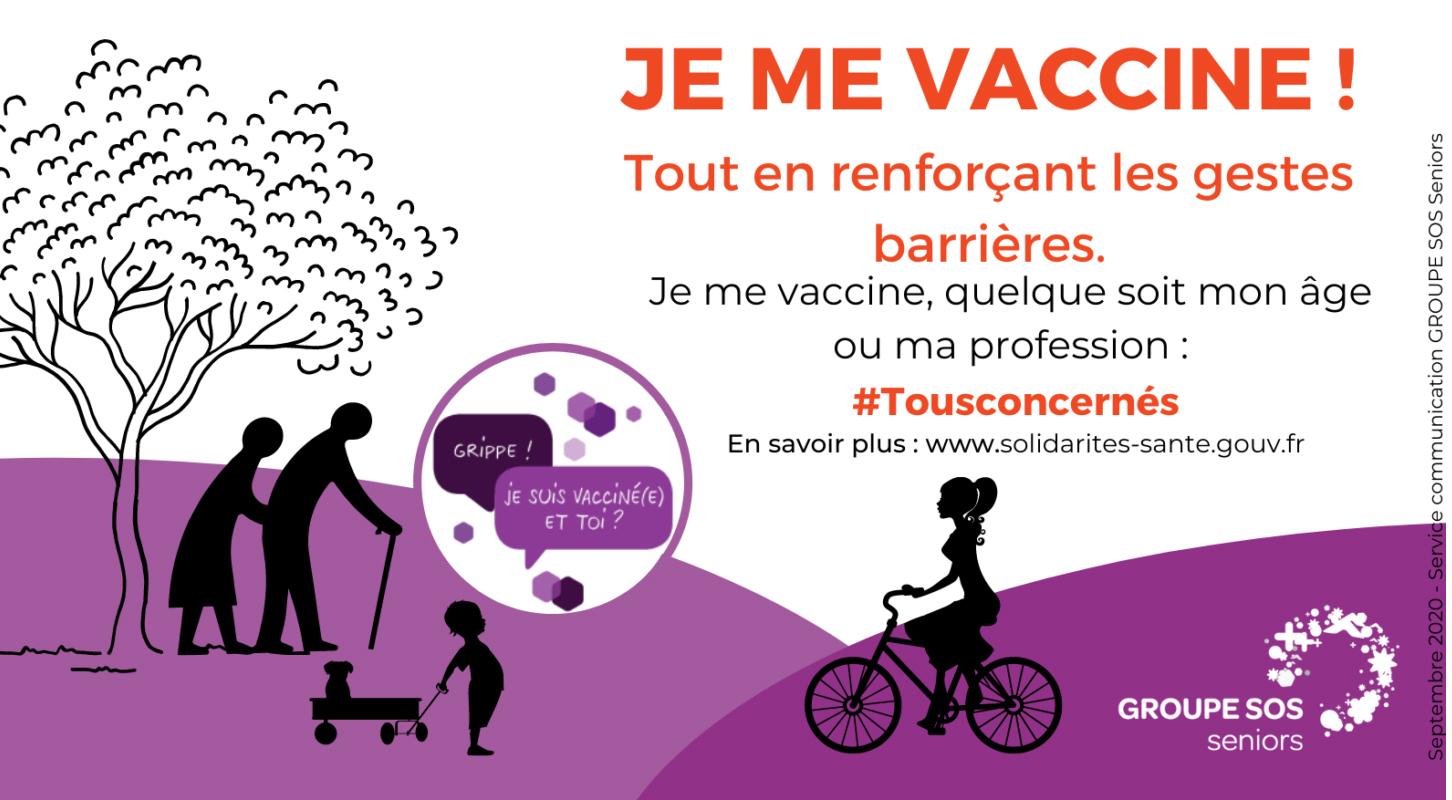 Grippe : je me vaccine